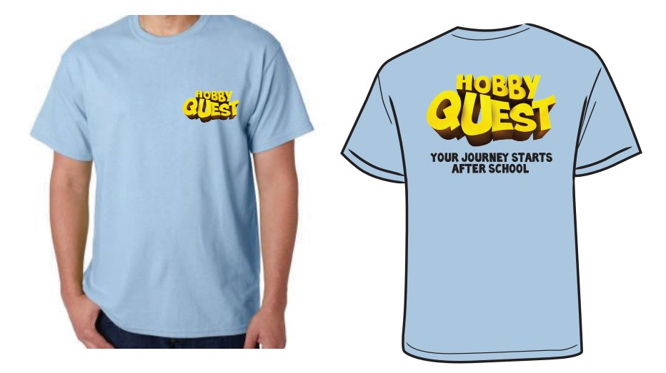 Hobby Quest ADULT T-shirts any size