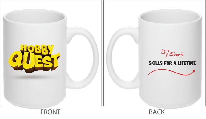 Hobby Quest cups